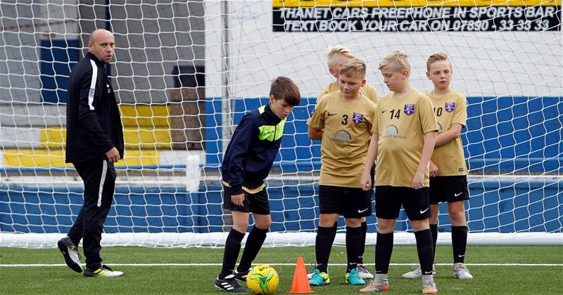 Half term match dedicated to Margate Youth