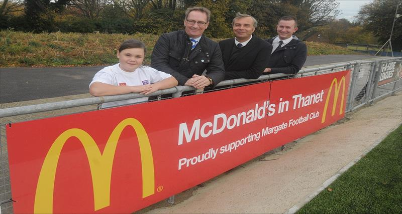 McDonalds Continue Sponsorship