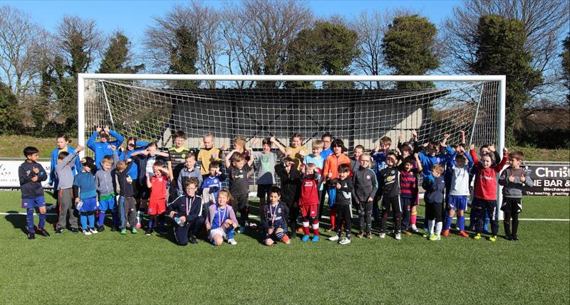 Half Term Soccer School