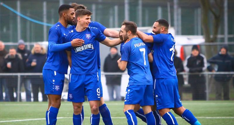 Blues Beat Haringey in Six Goal Thriller