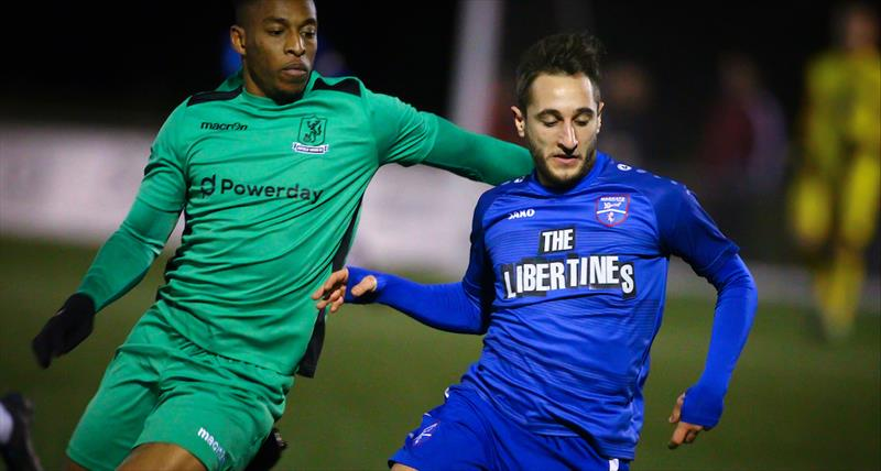 Blues Suffer Enfield Defeat